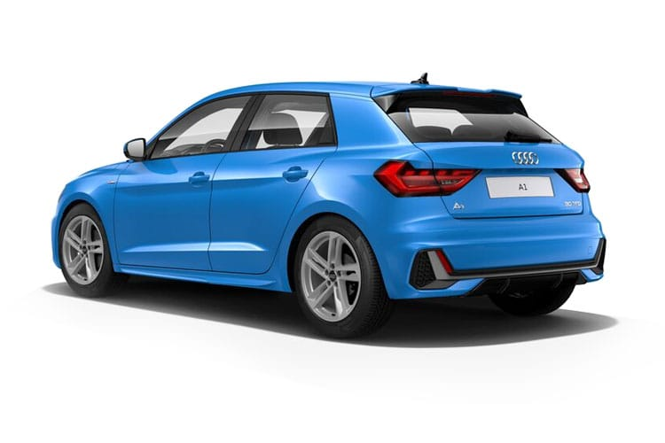 Audi A1 25 Sportback 5Dr 1.0 TFSI 95PS Technik 5Dr S Tronic [Start Stop] back view