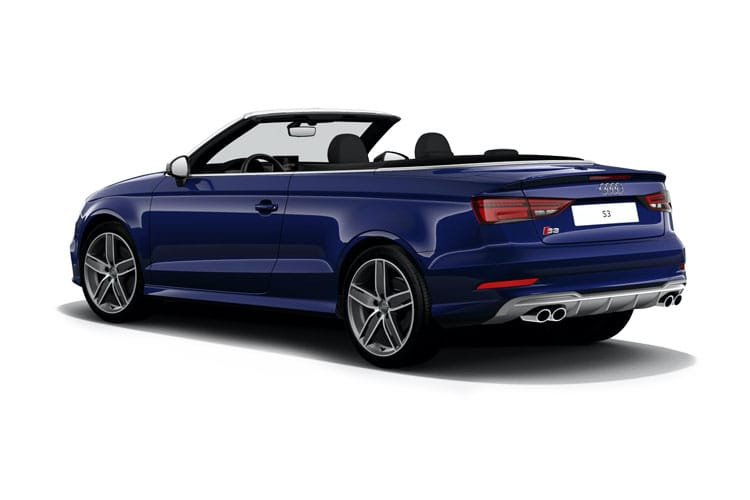 Audi A3 S3 Cabriolet quattro 2Dr 2.0 TFSI 300PS  2Dr S Tronic [Start Stop] [Technology] back view