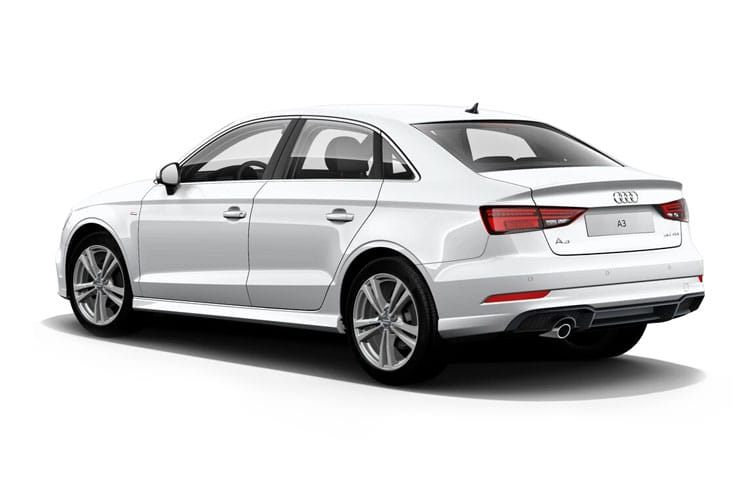 Audi A3 30 Saloon 4Dr 1.6 TDI 116PS S line 4Dr Manual [Start Stop] [Technology] back view