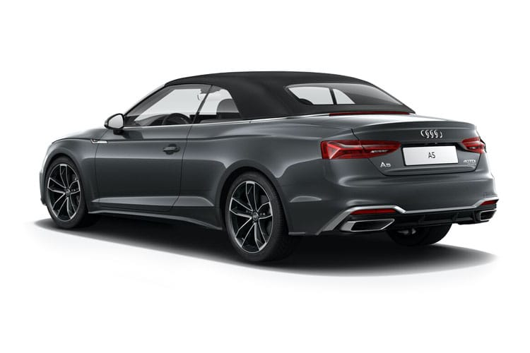 Audi A5 40 Cabriolet 2Dr 2.0 TFSI 190PS S line 2Dr Manual [Start Stop] [Technology] back view