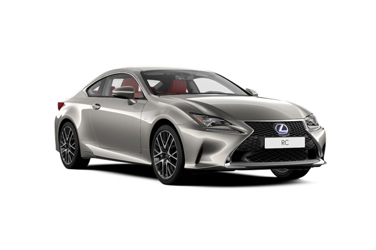 Lexus RC 300h Coupe 2.5 h 223PS F-Sport 2Dr E-CVT [Start Stop] [Takumi] front view