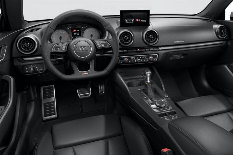 Audi A3 S3 Cabriolet quattro 2Dr 2.0 TFSI 300PS  2Dr S Tronic [Start Stop] [Technology] inside view