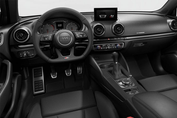 Audi A3 40 Saloon quattro 4Dr 2.0 TDI 200PS Edition 1 4Dr S Tronic [Start Stop] inside view