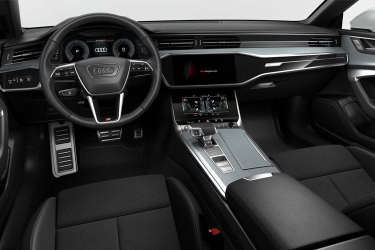 Audi A7 45 Sportback quattro 5Dr 3.0 TDI V6 245PS Black Edition 5Dr S Tronic [Start Stop] inside view