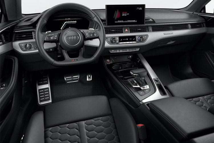 Audi A5 RS5 Coupe quattro 2Dr 2.9 TFSI V6 450PS Carbon Black 2Dr Tiptronic [Start Stop] inside view