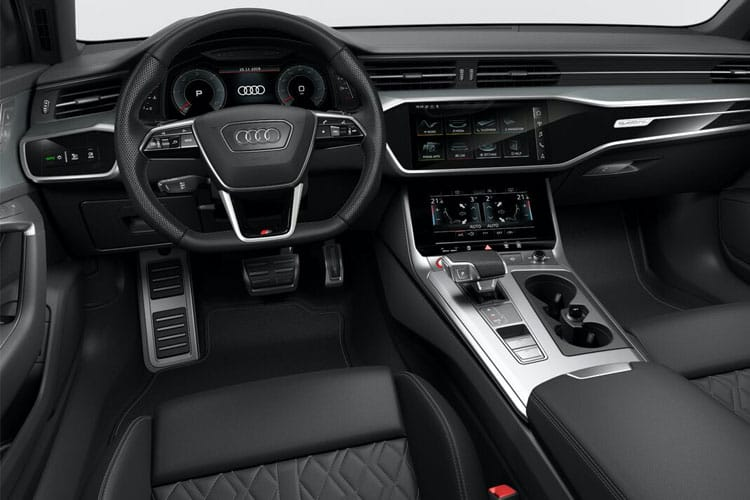 Audi A6 S6 Saloon quattro 3.0 TDI V6 344PS Black Edition 4Dr Tiptronic [Start Stop] inside view